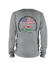 AMERICAN GROWN WITH SOUTH AFRICAN ROOTS Long Sleeve Tee thumbnail