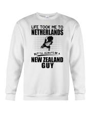NEW ZEALAND GUY LIFE TOOK TO NETHERLANDS Crewneck Sweatshirt thumbnail