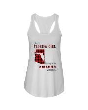 FLORIDA GIRL LIVING IN ARIZONA WORLD Ladies Flowy Tank thumbnail