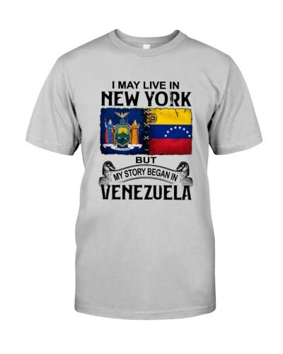 LIVE IN NEW YORK BEGAN IN VENEZUELA