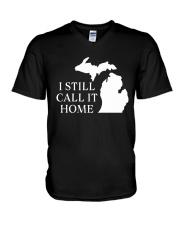 MICHIGAN I STILL CALL IT HOME V-Neck T-Shirt thumbnail