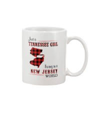 TENNESSEE GIRL LIVING IN NEW JERSEY WORLD Mug thumbnail