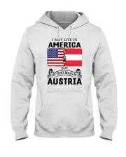 LIVE IN AMERICA BEGAN IN AUSTRIA ROOT WOMEN Hooded Sweatshirt thumbnail