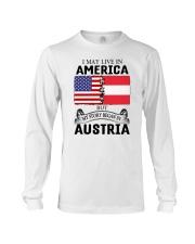 LIVE IN AMERICA BEGAN IN AUSTRIA ROOT WOMEN Long Sleeve Tee thumbnail