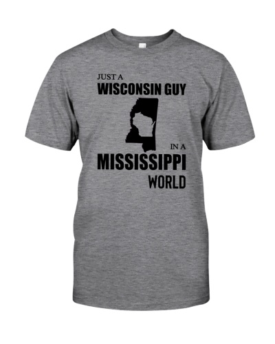 JUST A WISCONSIN GUY IN A MISSISSIPPI WORLD