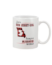 JERSEY GIRL LIVING IN MISSOURI WORLD Mug thumbnail