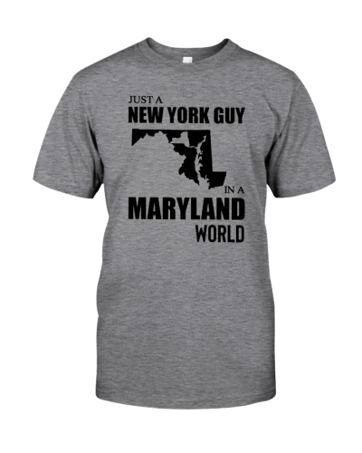 JUST A NEW YORK GUY IN A MARYLAND WORLD