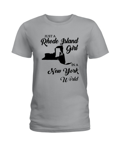 JUST A RHODE ISLAND GIRL IN A NEW YORK WORLD