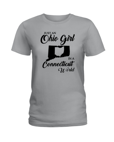 JUST AN OHIO GIRL IN A CONNECTICUT WORLD