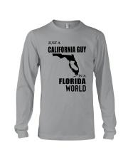 JUST A CALIFORNIA GUY IN A FLORIDA WORLD Long Sleeve Tee thumbnail