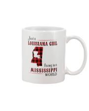 LOUISIANA GIRL LIVING IN MISSISSIPPI WORLD Mug thumbnail
