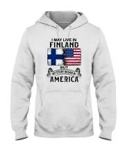 LIVE IN FINLAND BEGAN IN AMERICA Hooded Sweatshirt thumbnail