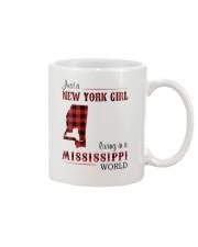 NEW YORK GIRL LIVING IN MISSISSIPPI WORLD Mug thumbnail