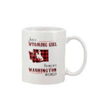 WYOMING GIRL LIVING IN WASHINGTON WORLD Mug thumbnail