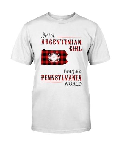 ARGENTINIAN GIRL LIVING IN PENNSYLVANIA WORLD