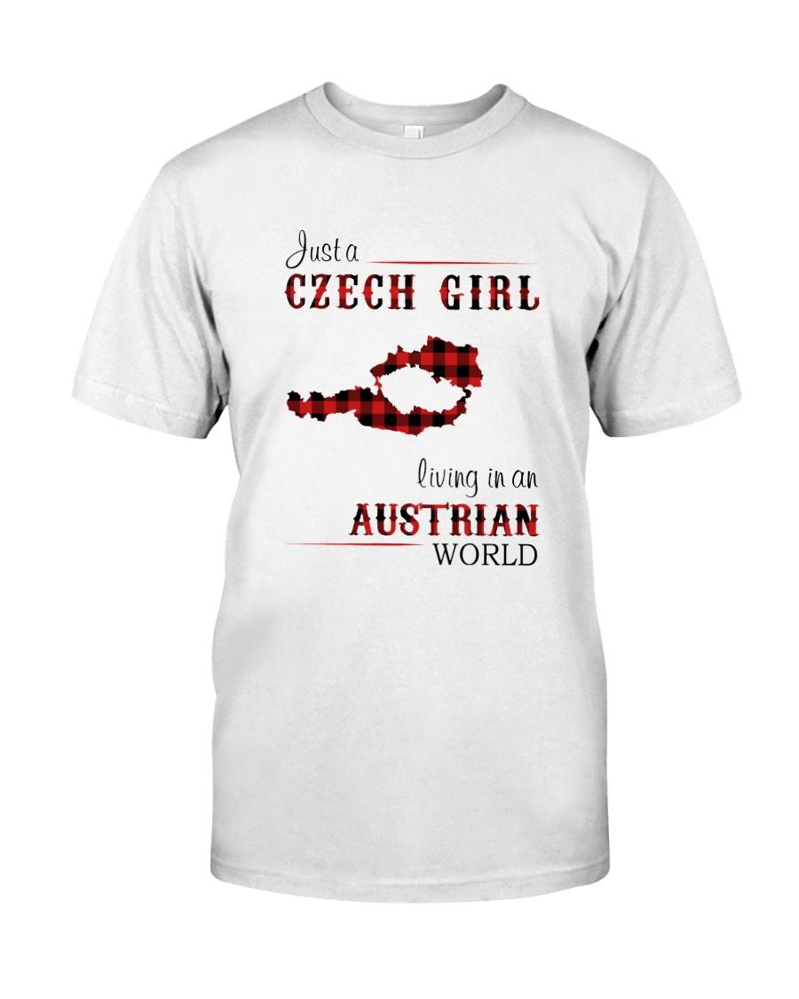 CZECH GIRL LIVING IN AUSTRIAN WORLD Classic T-Shirt