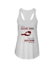 CZECH GIRL LIVING IN AUSTRIAN WORLD Ladies Flowy Tank thumbnail