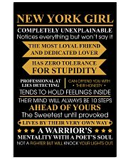 NEW YORK GIRL COMPLETELY UNEXPLANINABLE 11x17 Poster front