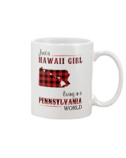 HAWAII GIRL LIVING IN PENNSYLVANIA WORLD Mug thumbnail