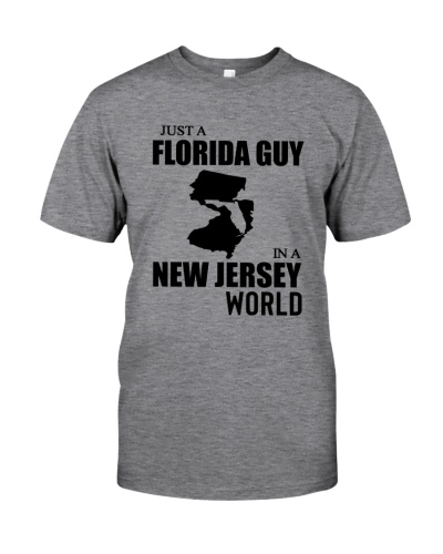 JUST A FLORIDA GUY IN A NEW JERSEY WORLD