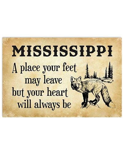 MISSISSIPPI A PLACE YOUR HEART WILL ALWAYS BE