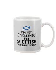 I'M NOT YELLING I'M SCOTTISH Mug thumbnail