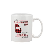 MASSACHUSETTS GIRL LIVING IN GEORGIA WORLD Mug thumbnail