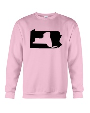 LIVING IN PENNSYLVANIA AND YOU'RE FROM NEW YORK Crewneck Sweatshirt thumbnail