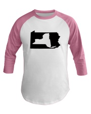 LIVING IN PENNSYLVANIA AND YOU'RE FROM NEW YORK Baseball Tee thumbnail