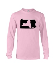 LIVING IN PENNSYLVANIA AND YOU'RE FROM NEW YORK Long Sleeve Tee thumbnail