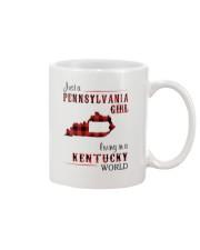 PENNSYLVANIA GIRL LIVING IN KENTUCKY WORLD Mug thumbnail