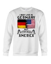 LIVE IN GERMANY BEGAN IN AMERICA Crewneck Sweatshirt thumbnail