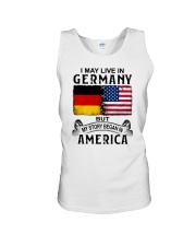 LIVE IN GERMANY BEGAN IN AMERICA Unisex Tank thumbnail