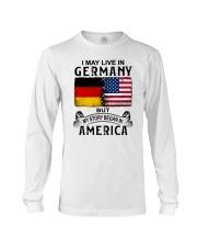 LIVE IN GERMANY BEGAN IN AMERICA Long Sleeve Tee thumbnail