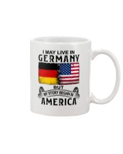 LIVE IN GERMANY BEGAN IN AMERICA Mug thumbnail