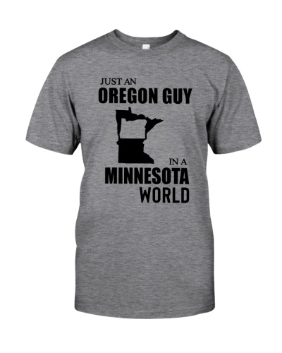 JUST AN OREGON GUY IN A MINNESOTA WORLD