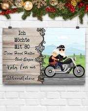Baby Lass Uns Motorradfahren 24x16 Poster aos-poster-landscape-24x16-lifestyle-29