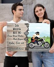 Baby Lass Uns Motorradfahren 24x16 Poster poster-landscape-24x16-lifestyle-21