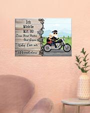 Baby Lass Uns Motorradfahren 24x16 Poster poster-landscape-24x16-lifestyle-23