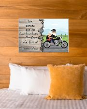 Baby Lass Uns Motorradfahren 24x16 Poster poster-landscape-24x16-lifestyle-27