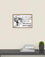 Baby lasst uns campen gehen 24x16 Poster poster-landscape-24x16-lifestyle-09