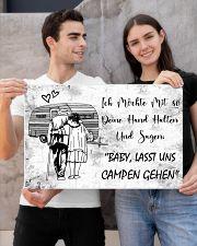 Baby lasst uns campen gehen 24x16 Poster poster-landscape-24x16-lifestyle-21