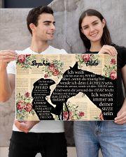Ich werder immer an deiner seite sein 24x16 Poster poster-landscape-24x16-lifestyle-21
