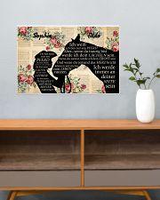 Ich werder immer an deiner seite sein 24x16 Poster poster-landscape-24x16-lifestyle-25