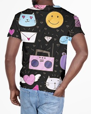 All over lovely cat fish radio design All-over T-Shirt aos-all-over-T-shirt-lifestyle-back-03