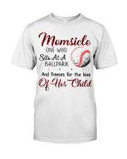 Baseball tshirt 24 Classic T-Shirt front
