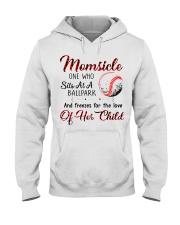 Baseball tshirt 24 Hooded Sweatshirt thumbnail