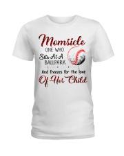 Baseball tshirt 24 Ladies T-Shirt thumbnail