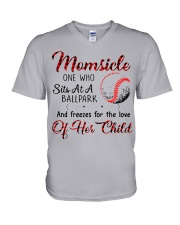 Baseball tshirt 24 V-Neck T-Shirt thumbnail