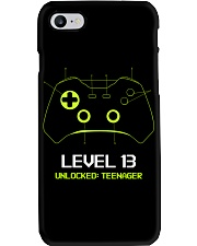 Teenager 13th Birthday design Level 13 Unlocked Phone Case thumbnail